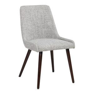 Fabric Side Chairs, Set of 2, Fabric: Light Gray