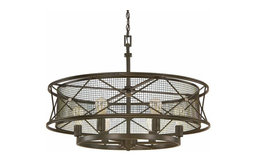 Capital Lighting 4896OR Jackson 6-Light Pendant, Oil Rubbed Bronze