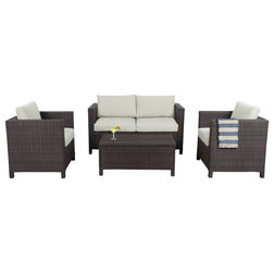 Contemporary Outdoor Lounge Sets by Houzz