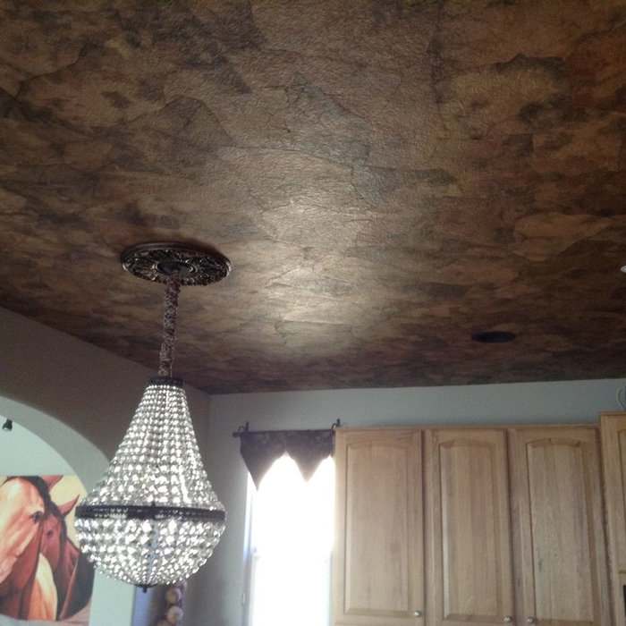 Kitchen Ceiling Handmade Papers