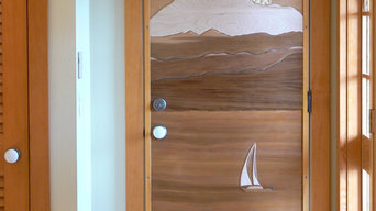 handcrafted one of a kind artistic doors