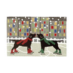 Liora Manne Frontporch Holiday Ice Dogs Rug, 2