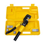 10 Ton Hydraulic Wire Battery Cable Lug Terminal Crimper Crimping Tool, 9 Dies