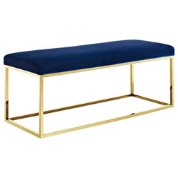 Contemporary Upholstered Benches by Modway