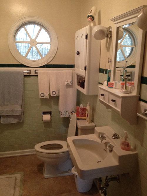 1950s bathroom remodel