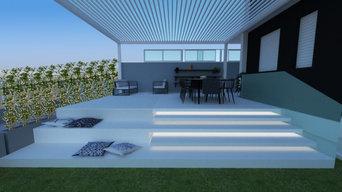 Ristrutturazione giardino Casa privata