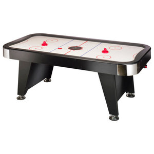4 In 1 Multi Game Air Hockey Table Tennis Pool Table Foosball Modern Game Tables By Affordablevariety