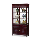 Shop Houzz | China Furniture and Arts Black Lacquer Pagoda China Cabinet - China Cabinets And ...