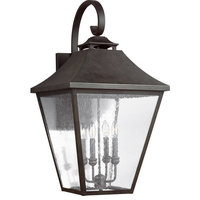 Galena Outdoor Wall Light in Sable