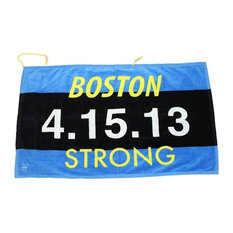 "Boston Strong Beach Towel, ""4.15.13"""