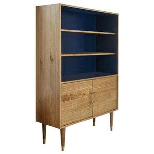 Fifties Mindy Wood Bookcase