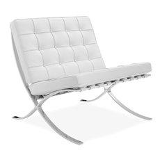 Barcelona Chair, White
