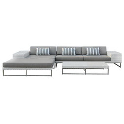Modern Outdoor Lounge Sets by MangoHome