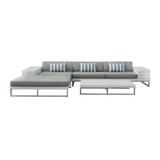 mangohome outdoor wicker sofa sectional 3piece resin couch set outdoor lounge sets