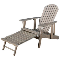 Transitional Adirondack Chairs by GDFStudio