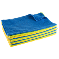 Microfiber Cloths, 12 Count Cleaning Towels Dust Polish And Clean by Stalwart