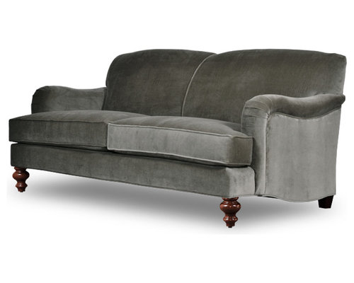 Basel Tight Back English Roll-Arm Sofas and Chairs - Sofas