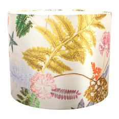 Now That's Something Silver Floral Lampshade For Pendant Light, Large