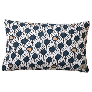 Bold Print Peacock Pride Scatter Cushion Cover, Large