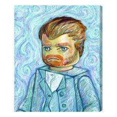 """""""Van Legogh"""" Canvas Art Print, 61x77 cm"""