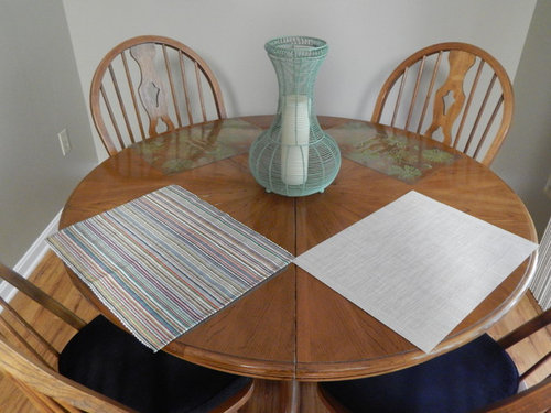 Table Runner And Placemats For Round, Placemat For Round Table
