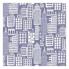 Cityscape, Violet-Gray, Roll
