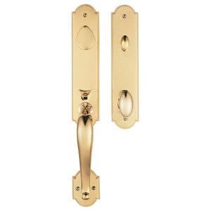 Rockwell Premium San Francisco Handleset, Lifetime Brass