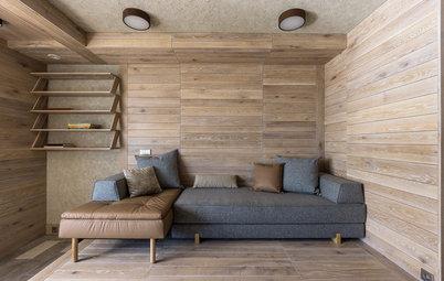 Houzz тур: Квартира, в которой архитектор спас пространство