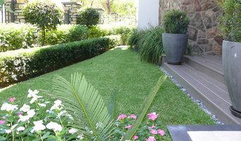 Formal Front Garden