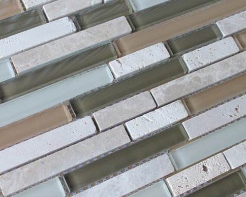 anatolia bliss series bamboo linear glass and stone mosaic tiles from anatolia mosaic