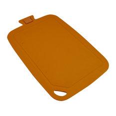 Wellos Eco Friendly Antibacterial Chopping Board, 38x25 cm, Orange