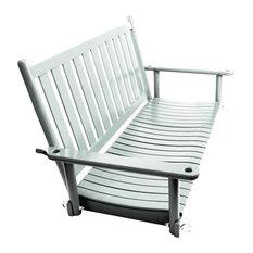 Asheville Wood 4' Porch Swing No. 58RTA, Coastal Gray