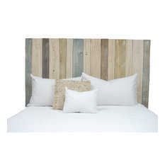 Handcrafted Headboard, Leaner Style, Farmhouse Mix, Full