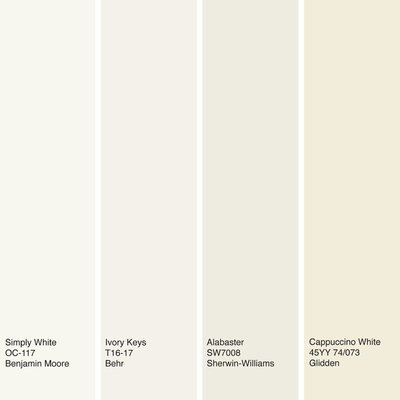 Color of the year off white is on trend for 2016 Best off white paint color