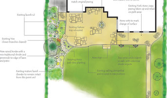 Patio and garden design overview