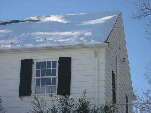 Closed Cell Foam Just Installed Ice Dams