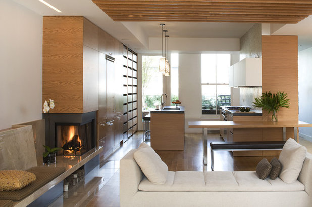 Contemporary Kitchen by Elliott Kaufman