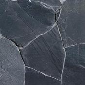 Raven Black Slate, Natural Cleft Tile