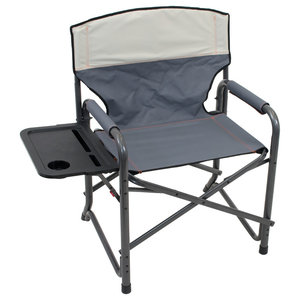 Sensational Sportsman Series Folding Camping Chairs With Side Table Set Machost Co Dining Chair Design Ideas Machostcouk