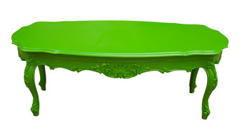 Provence Outdoor Coffee Table, Green