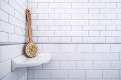 Which Grout Color For White Subway Tile