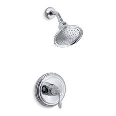 Kohler - Kohler Devonshire Rite-Temp Shower Valve Trim, Polished Chrome - Showerheads and Body Sprays