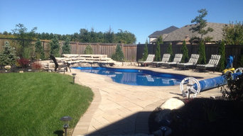 Fiberglass Pool and waterfall Alliston, ON