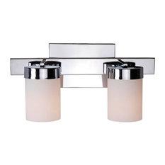 Kenroy Home 93222CH, Eastlake Bathroom Light, Chrome