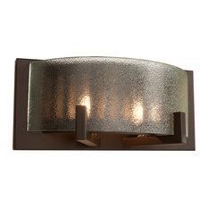 "Rogue Decor 611200 Firefly 2 Light 10-3/4""W Bathroom Sconce - Bronze"