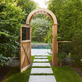 Landhaus Garten in New York