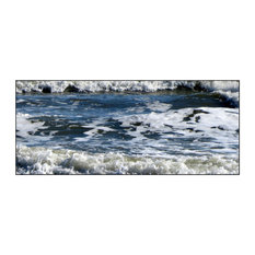 Abstract Blue Surf, Photography