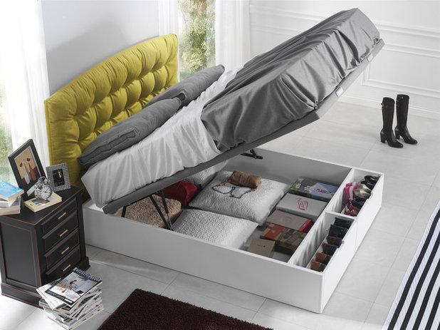 Es buena idea guardar cosas debajo de la cama 3 expertas - Camas con cama debajo ...