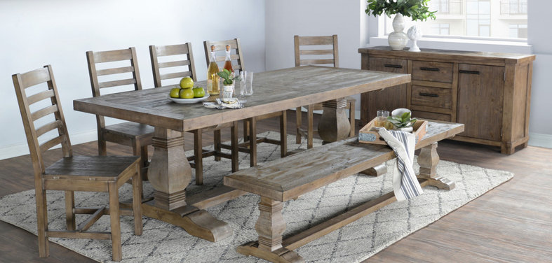 Farmhouse Dining Tables And Chairs