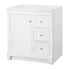 30 in. W Single Bathroom Vanity Base Only, White